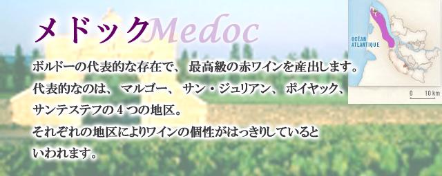 メドックのワイン/ボルドー/フランス